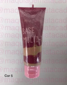 Base Líquida Multi-D Efeito Matte Mia Make Cor 5