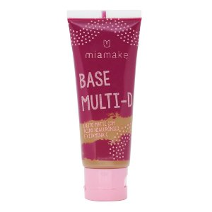 Base Líquida Multi-D Efeito Matte Mia Make Cor 6
