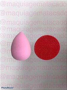 Kit 2 Esponjas para Maquiagem - Gota e Limpa Pincel