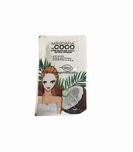 Máscara Facial de Coco com Óleo de Coco Extra Virgem Kataya