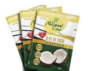 Óleo de Coco Extravirgem Sachê 15 ml Natural Coco