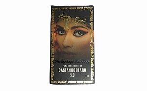 Henna Para Sobrancelha India Brasil Castanho Claro