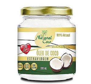 Óleo de Coco Extravirgem 200 ml Natural Coco