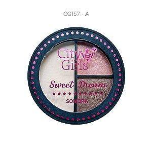 Trio de Sombra Sweet Dream City Girls Cor A