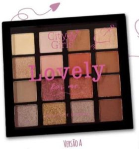 Paleta de Sombra Lovely For Me City Girls Cor A