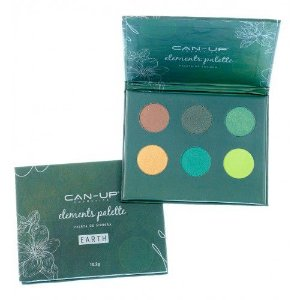 Paleta de Sombra Can-Up Elements Palette Earth
