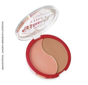 Duo de Blush Mahav Na Make Blush é Vida Cor 01