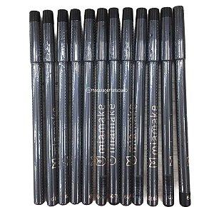 Lápis de Olho Preto Mia Make Atacado 12 Unidades