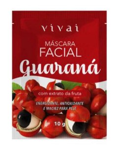 Máscara Facial Guaraná Vivai