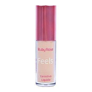 Corretivo Líquido Feels Ruby Rose Caramelo 50