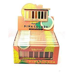 Paleta de Sombras Pinã Colada Ruby Rose HB1055 Atacado Box 12 Unidades