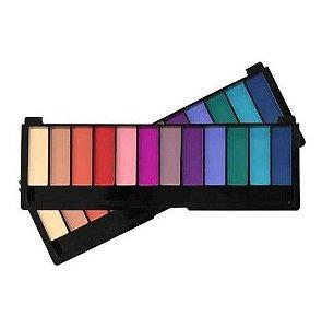 Paleta de Sombra 12 Cores Color Shock Pink 21 Cor 1 CS2754