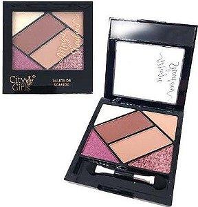 Paleta de Sombra Magic Shadow City Girls Cor B CG158