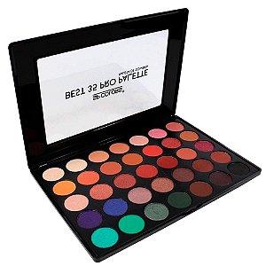 Paleta de Sombra Best 35 Cores Pro Palette SP Colors