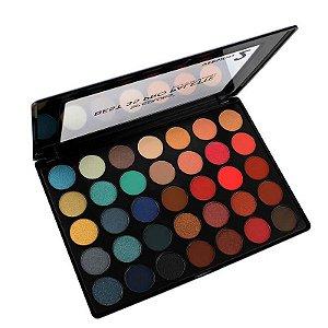 Paleta de Sombra Best 35 Cores Pro Palette SP Colors Versão 2