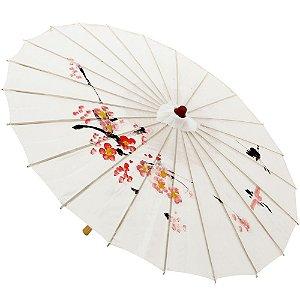Sombrinha Japonesa Color Tecido 85cm Para Casamentos