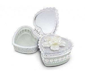 Porta Jóias - Lembrancinha Casamento Formato Coração