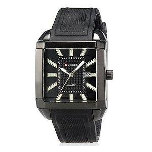 Relógio Masculino Curren Analógico 8145 PT