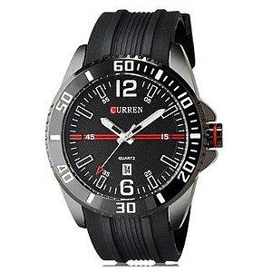 Relógio Masculino Curren Analógico 8178 PT
