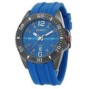 Relógio Masculino Curren Analógico 8178 AZ