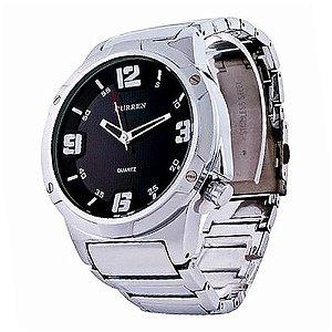 Relógio Masculino Curren Analógico 8111 PR