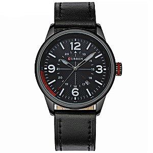 Relógio Masculino Curren Analógico 8215 PT