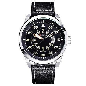 Relógio Masculino Curren Analógico 8210 PR