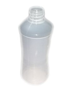 Almotolia de Plástico Bico Reto 125 ml