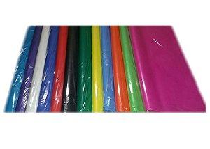 Papel de Seda 50x50 Cores Unica pct/ c/ 100 unidades