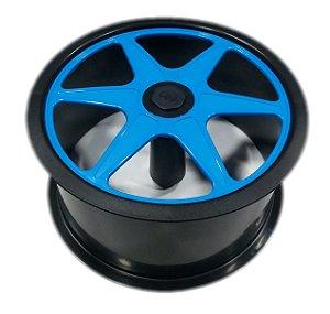 Carretilha de Plástico CDM  Black / Color 26 cm