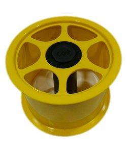 """Carretilha de Plástico CDM Cores Única  15 cm / 6"""" Polegadas"""