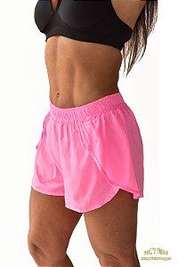 Short Feminino Boxer Rosa