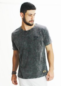 Camiseta Marmorizada Chumbo