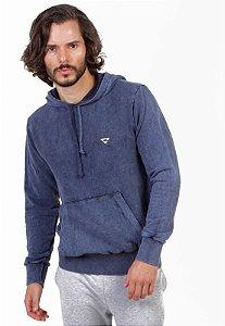 Blusa Canguru Masculino Azul Jeans