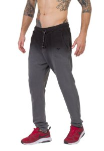 Calça Regular Fit Masculina Brohood Chumbo