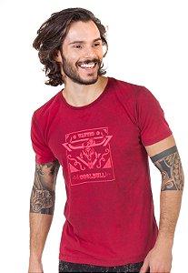 Camiseta Vermelho Fire Coolbull