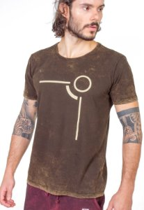 Camiseta Castanho Inverse Look