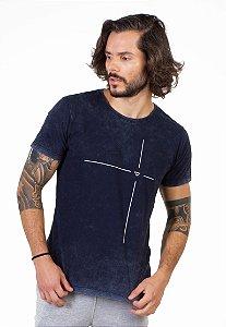 Camiseta Azul Inverse Alvo