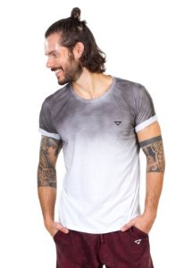 Camiseta Brohood Branca Jet Bordado