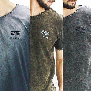 Kit 3 camisetas stoned
