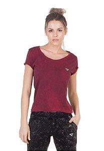 Camiseta Slim Vermelho Fire