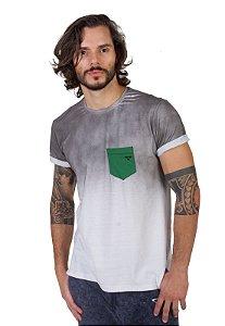 Camiseta Tshirt Bolso Branca Jetsup
