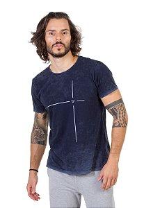 Camiseta Tshirt Silk Alvo Azul Inverse
