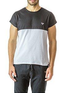 Camiseta Sleevless Preto e Branco