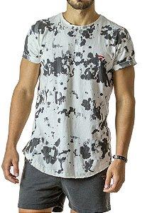 Camiseta Longline Curve Mancha