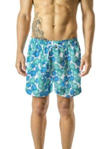 Shorts Praia Folhas