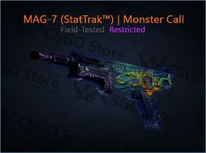 MAG-7 (StatTrak™) | Monster Call (Field-Tested)