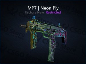 MP7 | Neon Ply (Factory New)