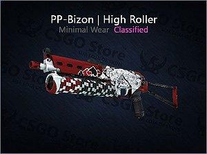 PP-Bizon | High Roller (Minimal Wear)