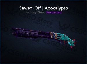 Sawed-Off | Apocalypto (Factory New)